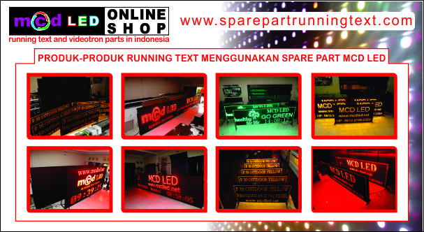 SPARE PART RUNNING TEXT