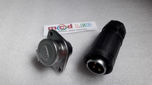 Waterproof connector 3 pin for led