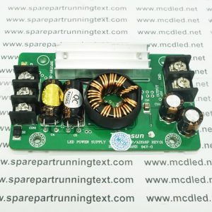 POWER SUPPLY RUNNING TEXT INVERTER DC 8 V – 36 V KE 5 V 15 AMPER
